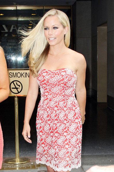Kendra Wilkinson Corset Dress