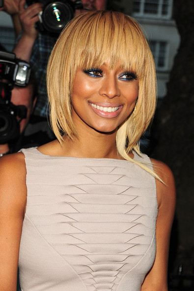 Keri Hilson Short Cut With Bangs