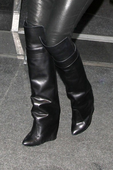 Khloe Kardashian Knee High Boots
