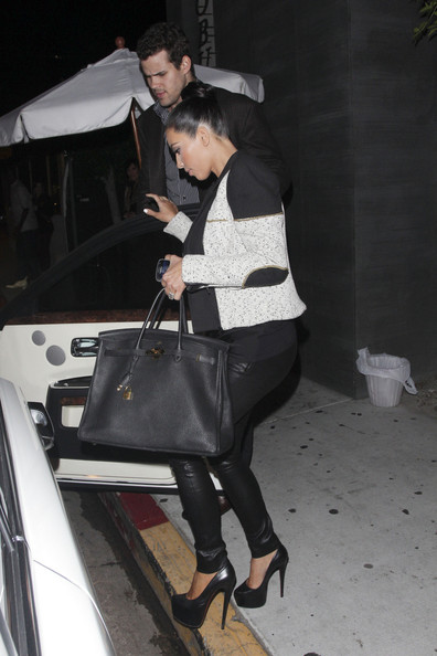 The Kardashians Dine at Nobu in Hollywood