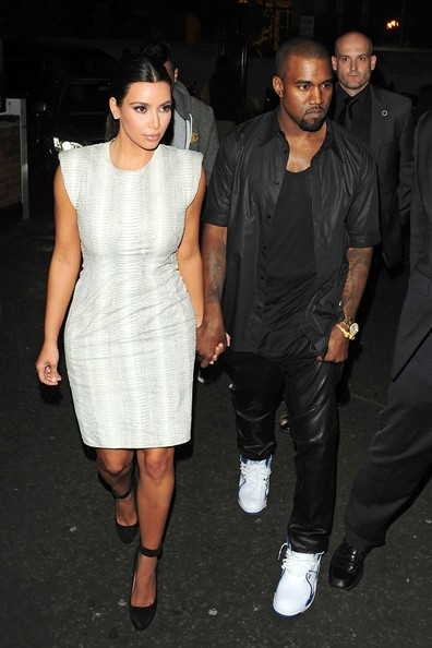 More Pics of Kim Kardashian Cocktail Dress (1 of 3) - Kim Kardashian Lookbook - StyleBistro
