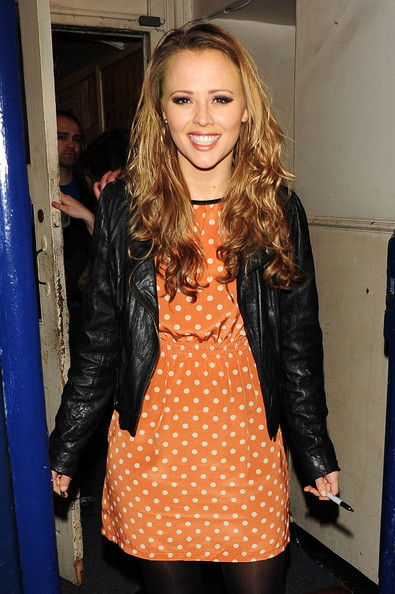 Kimberley Walsh Print Dress