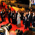 """on the red carpet for """"Melancholia"""" at the 64th Cannes Film Festival."""