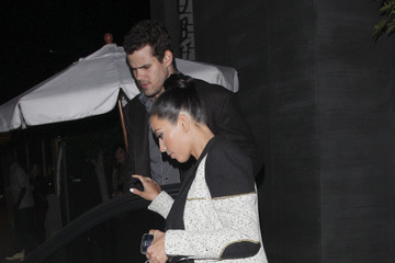 Kim Kardashian Kris Humphries The Kardashians Dine at Nobu in Hollywood