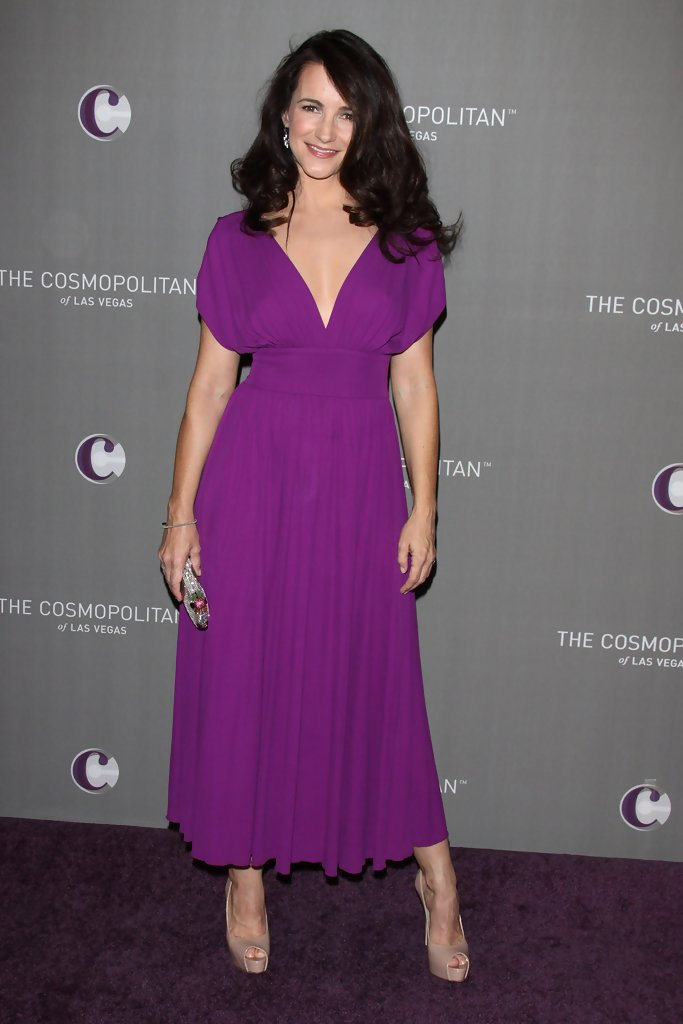 Kristin Davis Cocktail Dress - Kristin Davis Clothes Looks - StyleBistro