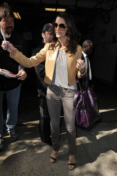 Kristin Davis Leather Tote