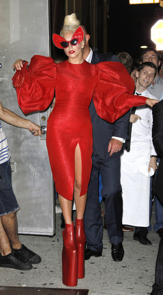 Lady Gaga Cocktail Dress