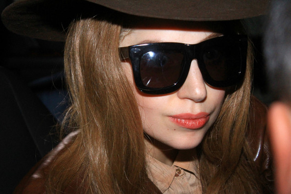 Lady Gaga Heads to the Staples Center in LA
