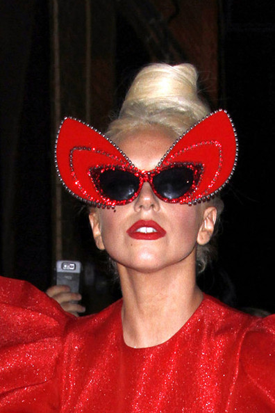 Lady Gaga Butterfly Sunglasses