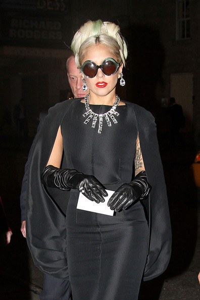Lady Gaga Diamond Statement Necklace