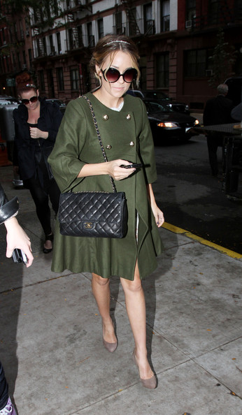 Lauren Conrad Quilted Leather Bag []