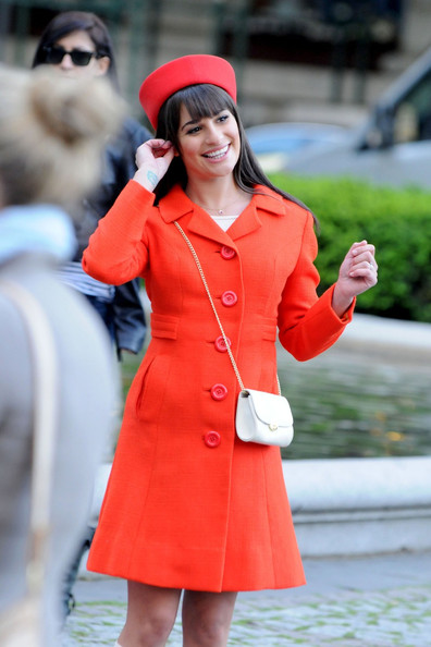 More Pics of Lea Michele Pillbox Hat (12 of 17) - Lea Michele Lookbook - StyleBistro