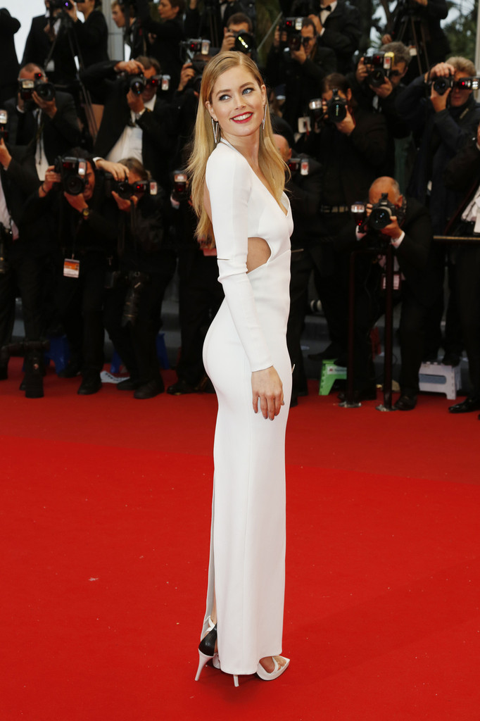 Doutzen Kroes attending 'Jimmy P. (Psychotherapy Of A Plains Indian)' premiere at the 66th Cannes Film Festival in Cannes.