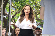 Leah Remini Loose Blouse