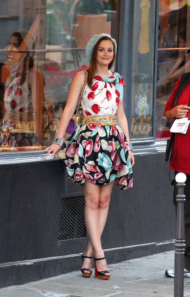 Leighton Meester Cocktail Dress Leighton Meester Looks