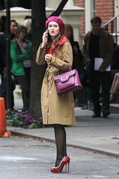 Leighton Meester Leather Purse