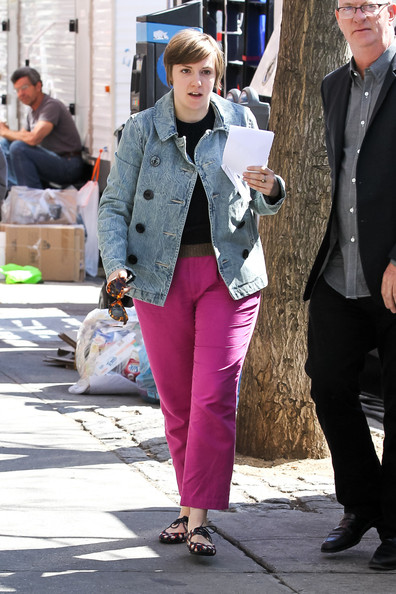 More Pics of Lena Dunham Crewneck Sweater (2 of 13) - Lena Dunham Lookbook - StyleBistro