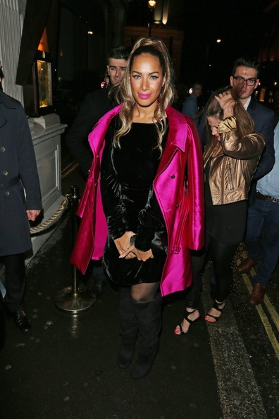 Leona Lewis Knee High Boots