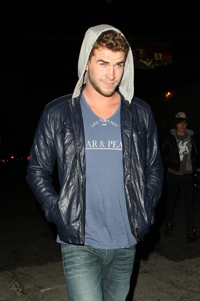 Liam Hemsworth Leather Jacket