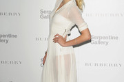 Lily Donaldson Shows Off Her Bod In Sheer Burberry at the Serpentine Summer Party 2011