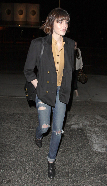 More Pics of Ali Lohan Skinny Jeans (3 of 9) - Ali Lohan Lookbook - StyleBistro