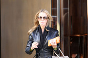 Lisa Hochstein Leather Coat