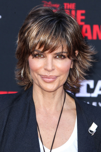 Lisa Rinna Gold Hoops