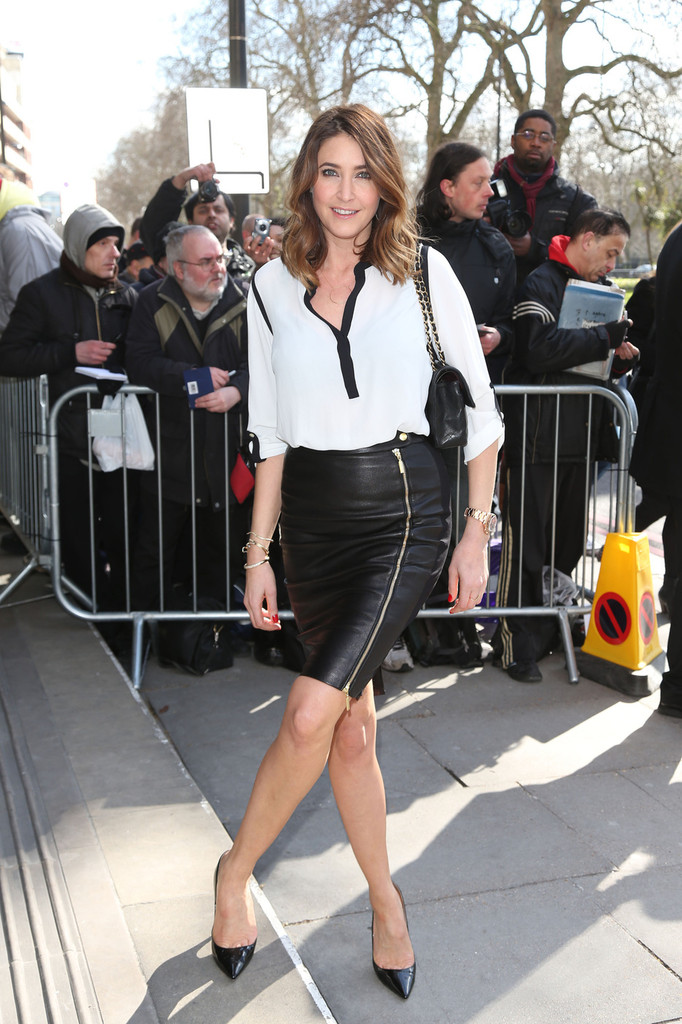 Lisa Snowdon Pencil Skirt Lisa Snowdon Clothes Looks