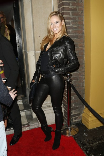 More Pics of Kimberley Garner Leather Pants (2 of 5) - Kimberley Garner Lookbook - StyleBistro