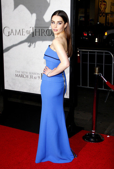 More Pics of Emilia Clarke Long Straight Cut (1 of 15) - Long Straight Cut Lookbook - StyleBistro