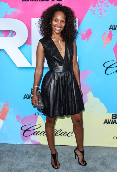 Mara Brock Akil Leather Dress