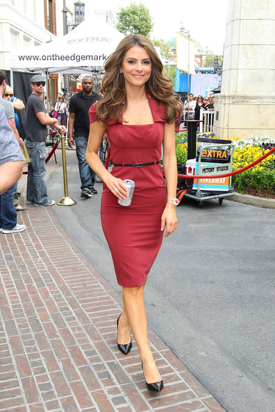Maria Menounos Day Dress