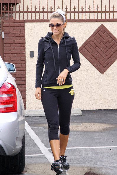 Maria Menounos Sports Pants