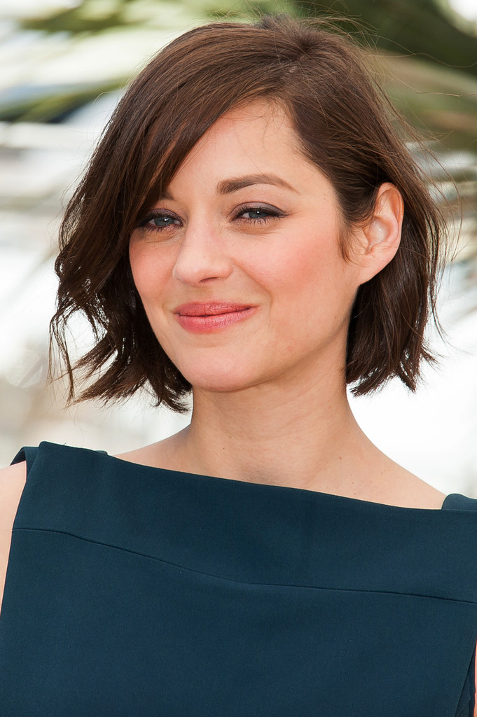 More Pics Of Marion Cotillard Short Wavy Cut 5 Of 26