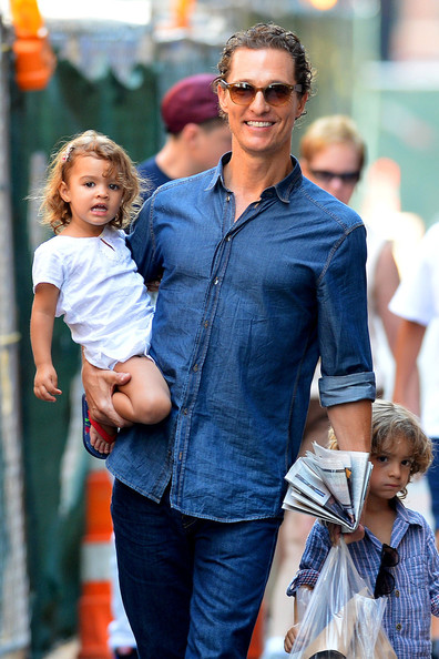 Matthew McConaughey Button Down Shirt
