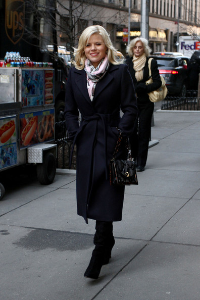 Megan Hilty Wool Coat
