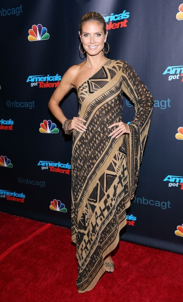 Melanie Brown attends 'America's Got Talent' Season 8 Post Show Finale Red Carpet event in New York City