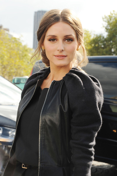 Olivia+Palermo in Melanie Laurent at Paris Fashion Week