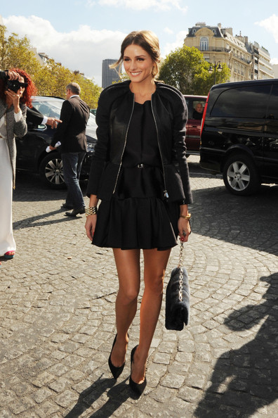 More Pics of Olivia Palermo Messy Updo (1 of 4) - Olivia Palermo Lookbook - StyleBistro
