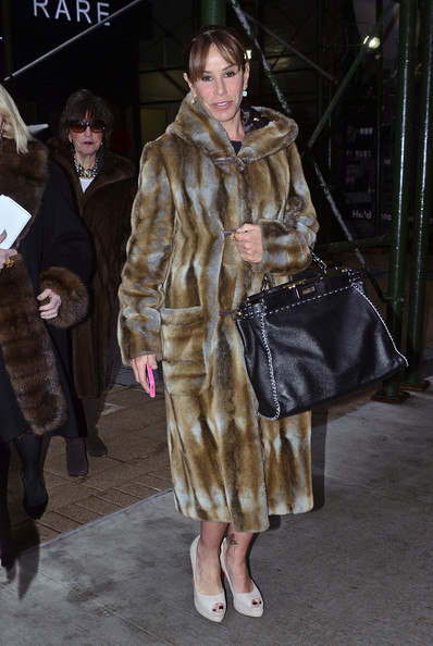 Melissa Rivers Fur Coat