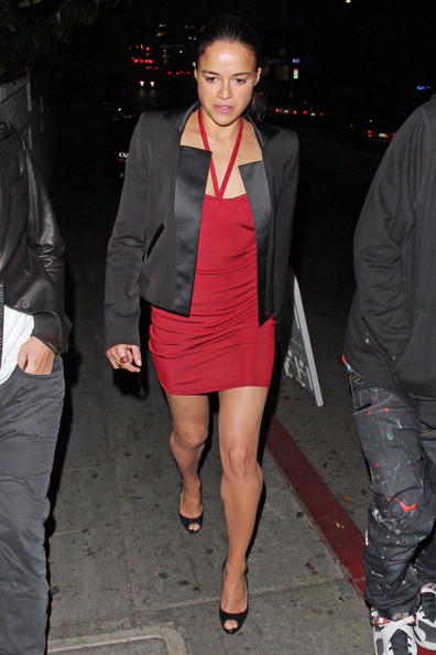 More Pics of Michelle Rodriguez Blazer (1 of 9) - Blazer Lookbook - StyleBistro