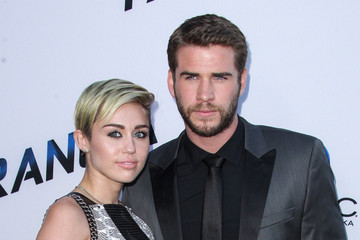 Miley Cyrus Liam Hemsworth 'Paranoia' Premieres in LA