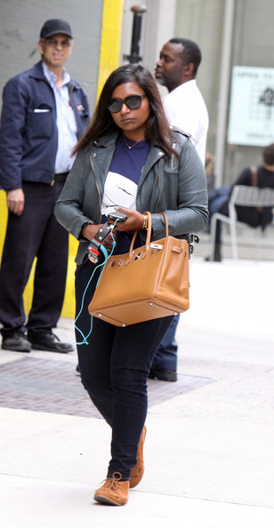 Mindy Kaling Leather Jacket