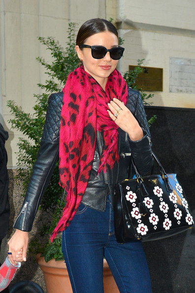 Miranda Kerr Patent Leather Tote