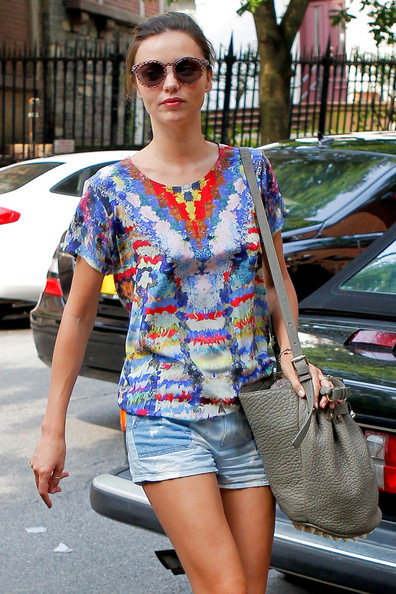 More Pics of Miranda Kerr T-Shirt (1 of 19) - Miranda Kerr Lookbook - StyleBistro