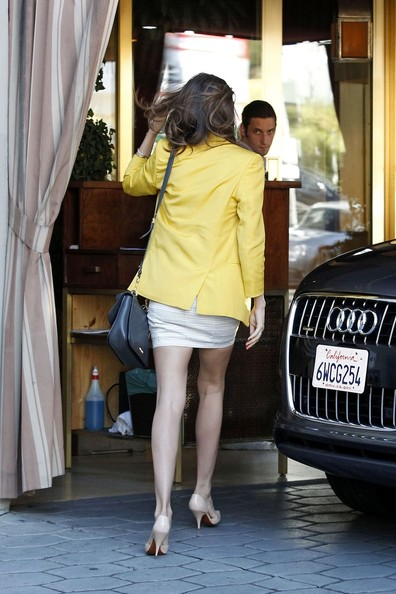 More Pics of Miranda Kerr Leather Messenger Bag (5 of 12) - Miranda Kerr Lookbook - StyleBistro