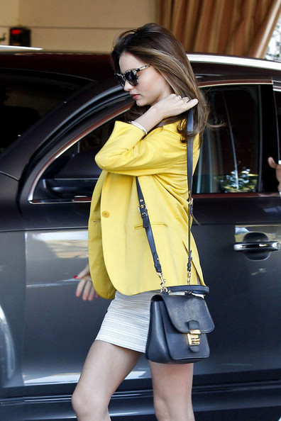 Miranda Kerr Goes to Lunch