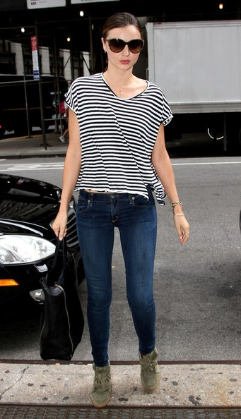 More Pics of Miranda Kerr T-Shirt (2 of 11) - Miranda Kerr Lookbook - StyleBistro