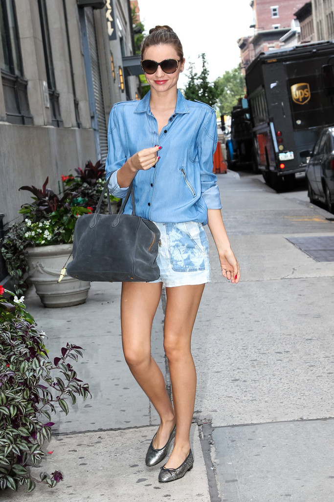 Miranda Kerr Keeps Busy in NYC
