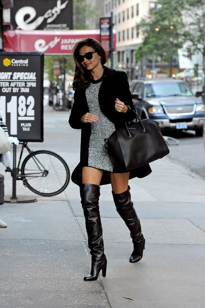 More Pics Of Miranda Kerr Over The Knee Boots 6 Of 16
